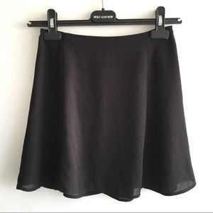 ARITZIA Sunday Best Mini Skirt Black 00